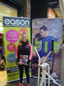 Aoife Mc Gill personal trainer, get fit with Eason at Eason Letterkenny