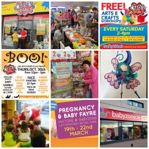 Events, ideas, at Babyzone and Crafty Kids, we love to plan and party to promote your brand.
