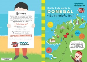New Book local guide to Donegal told by local school children