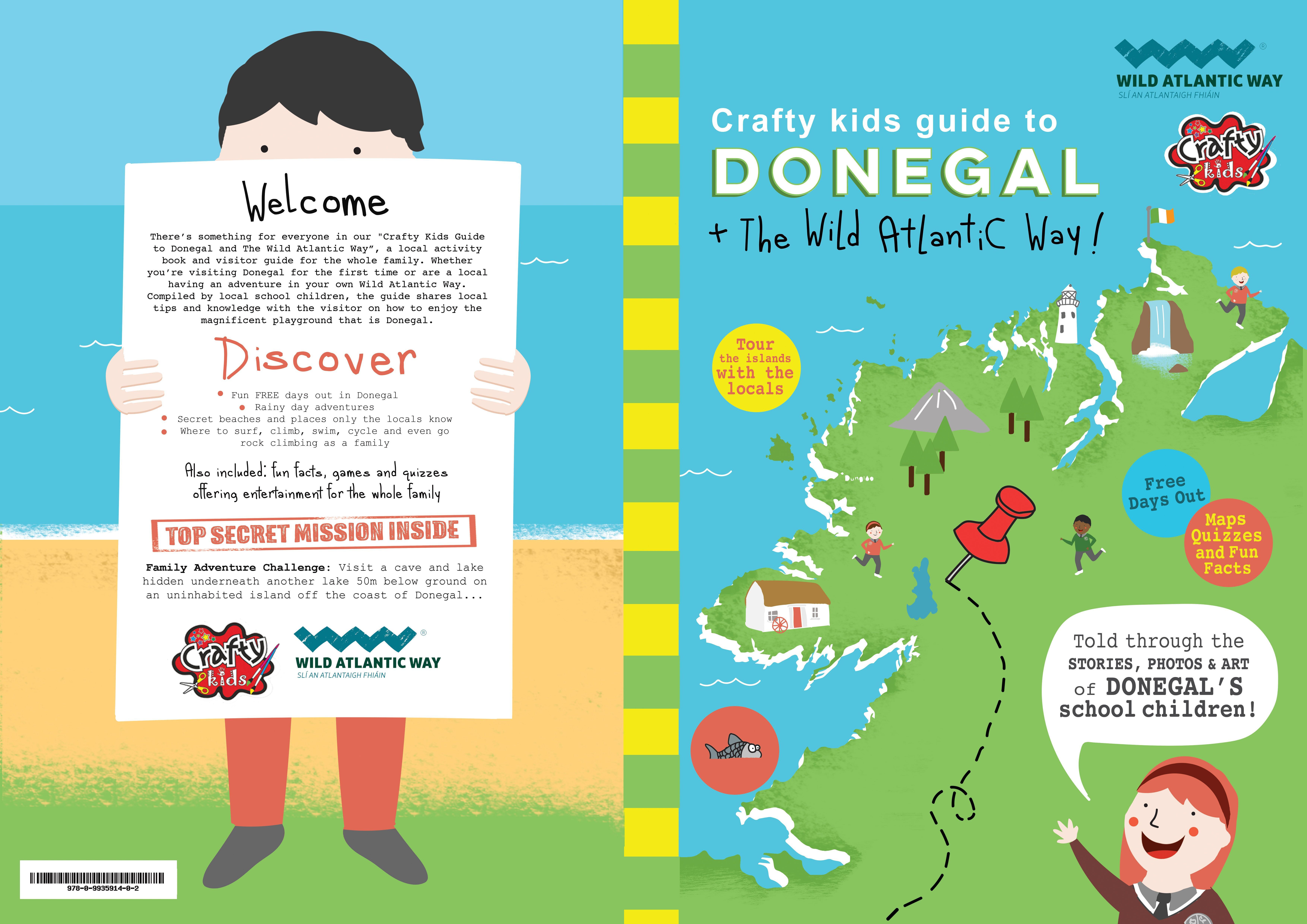 Kids Story Book Cover : New book what to do with kids in donegal this summer