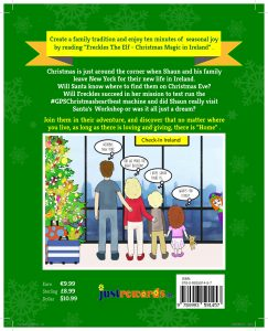 The Back Cover Freckles The Elf Christmas Magic In Ireland