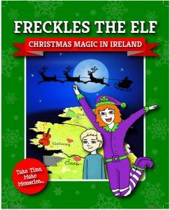 #FrecklesTheElf Christmas Magic In Ireland