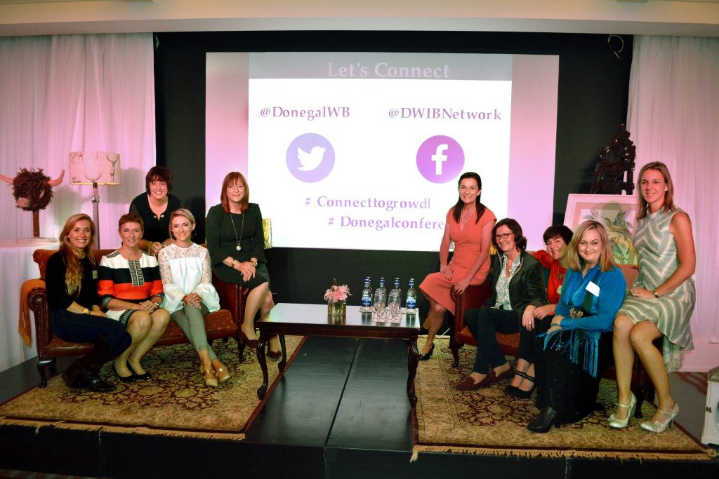 Evelyn Mc Marketing at theDonegal Women in Business Connect to Grow Conference 2017